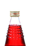 Fruit juice bottle Stock Images