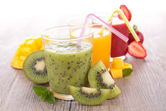 Fruit juice. Close up on fruit juice Royalty Free Stock Photos