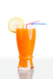 Fruit juice for couple Stock Image