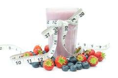 Fruit juice diet Royalty Free Stock Image