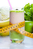 Fruit juice - diet and fitness Stock Photography