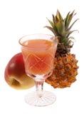 Fruit juice and fruits Stock Photo