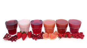 Fruit Juice Health Drinks Stock Images