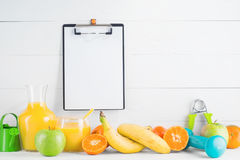 Fruit and juice Royalty Free Stock Photo