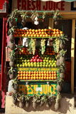 Fruit Juice Stall . Stock Images