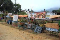 Fruit Juice Stall. royalty free stock photos