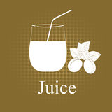 Fruit juice symbols Stock Photo