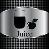 Fruit juice symbols -  illustration label concept menu Royalty Free Stock Photography