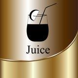 Fruit juice symbols -  illustration label concept menu Stock Photos