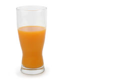 Fruit juice on white Royalty Free Stock Images