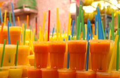 Fruit juices Royalty Free Stock Photography