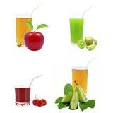 Fruit juices Royalty Free Stock Photo