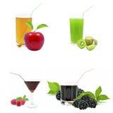 Fruit juices Stock Photo