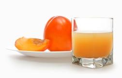 Fruit juicy persimmons Royalty Free Stock Photo