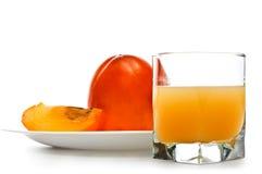 Fruit juicy persimmons Stock Photo