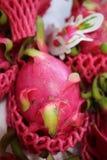 Fruit juteux de dragon photos libres de droits