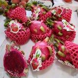 Fruit juteux de dragon photo stock