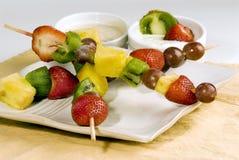 Fruit kabobs Royalty Free Stock Photo