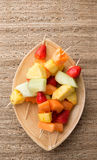 Fruit Kabobs Stock Image