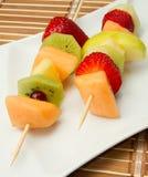 Fruit Kebab Royalty Free Stock Images