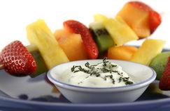Fruit Kebabs 1 Royalty Free Stock Images