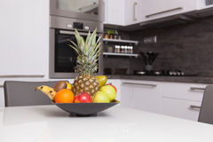 Fruit in a kitchen Royalty Free Stock Photography