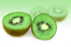 Fruit kiwi Stock Images