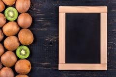 Fruit kiwi menu Stock Photos