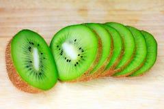 Fruit of kiwi Stock Images