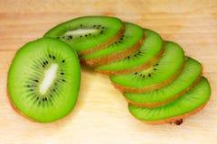 Fruit of kiwi Stock Image