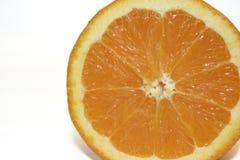 Fruit - l'orange a coupé 2 Photos stock