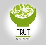 Fruit label Stock Photo