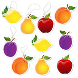 Fruit Labels Royalty Free Stock Photo