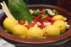 Fruit lemon Stock Photo