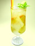 Fruit lemonade cold drink Stock Photography