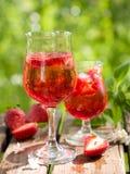 Fruit lemonade or Sangria Stock Photo