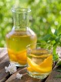 Fruit lemonade or Sangria Royalty Free Stock Photos