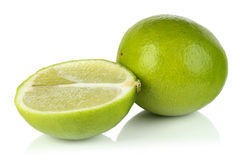 The fruit of lime. Stock Photos