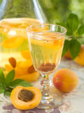 Fruit liqueur Royalty Free Stock Photo
