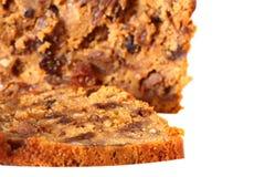 Fruit loaf cake D Royalty Free Stock Image