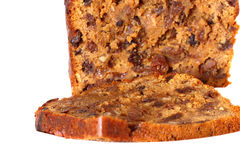 Fruit loaf cake A Royalty Free Stock Image