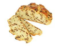 A fruit loaf Stock Photography