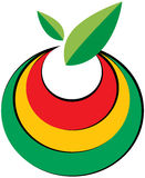 Fruit logo. Vector illustration of fruit logo Royalty Free Stock Image