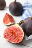 Fruit mûr de figue images stock