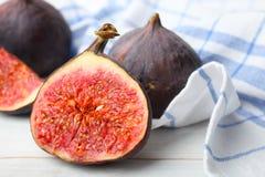 Fruit mûr de figue photos libres de droits