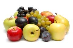 Fruit mûr sur un blanc Images libres de droits