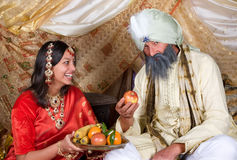 Fruit for the Maharaja stock photo