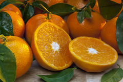 Fruit - Mandarin oranges Royalty Free Stock Images