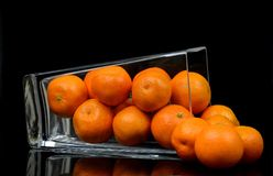 Fruit, Mandarins, Fresh, Healthy Stock Photo
