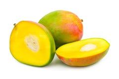 Fruit mango. Isolated on white background Royalty Free Stock Images